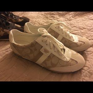 Coach shoes size 8.5